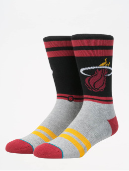 Stance Socks NBA On Court Collection City Gym Heat red