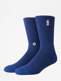 Stance Sokker NBA On Court Collection Logoman Crew blå