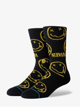 Stance Sokker Nirvana Face svart