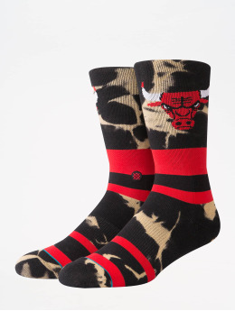 Stance Strumpor NBA On Court Collection Bulls Acid Wash röd