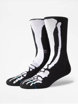 Stance Strumpor Bones 2 svart