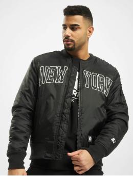 Starter Куртка-бомбардир New York черный