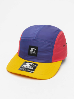 Starter 5 Panel Caps Multicolored Logo Patch kolorowy