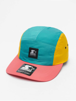 Starter 5 Panel Caps Multicolored Logo Patch mangefarvet