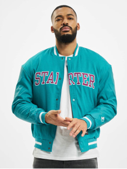 Starter College Jackets Team College  turkusowy