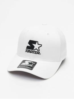 Starter Flexfitted Cap Logo weiß