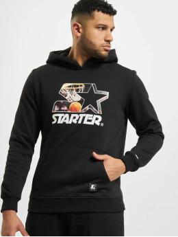 Starter Hoody All Net  zwart
