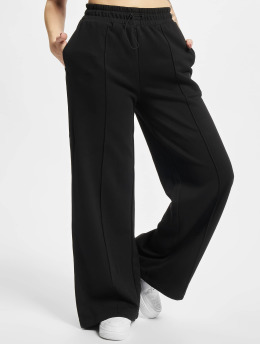 Starter Jogginghose Ladies Wide Leg  schwarz