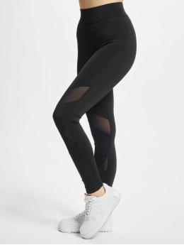 Starter Leggings/Treggings Ladies Highwaits Mesh  czarny