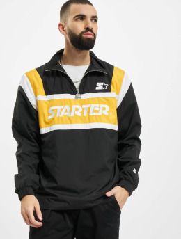 Starter Lightweight Jacket Half Zip Retro black