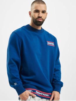 Starter Pullover Wording  blau