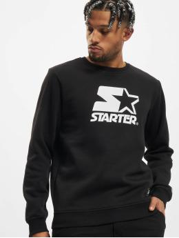 Starter Pullover Logo  schwarz