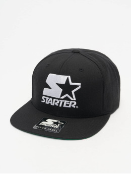 Starter Snapback Cap Logo black