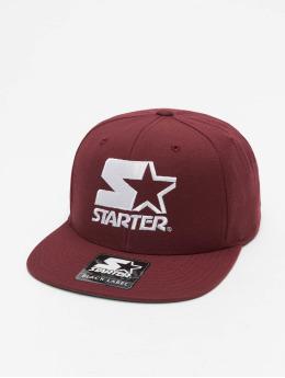 Starter snapback cap Logo rood