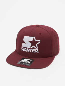 Starter Snapback Caps Logo rød