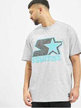 Starter T-Shirt Multicolored Logo gris