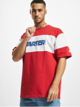 Starter T-shirt Block Jersey röd