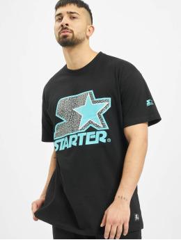 Starter T-shirts Multicolored Logo sort