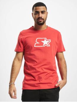 Starter T-Shirty Small Logo czerwony