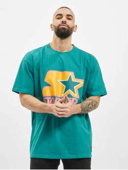 Starter T-Shirty Colored Logo zielony