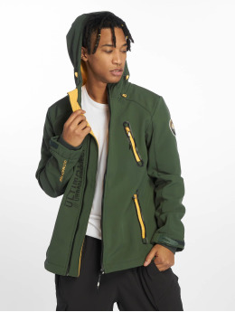 Stitch & Soul Демисезонная куртка Rainy зеленый