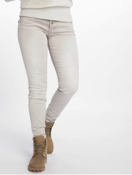 Stitch & Soul Облегающие джинсы Washed серый
