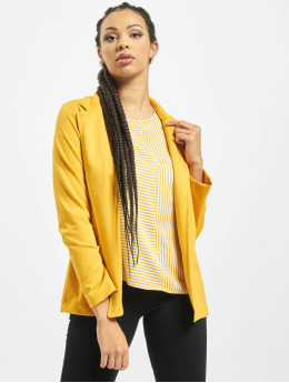 Stitch & Soul Blazer Jersey  amarillo