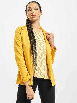 Stitch & Soul Blazer femme Jersey  jaune