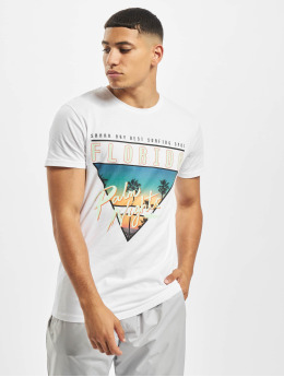 Stitch & Soul Camiseta Florida  blanco