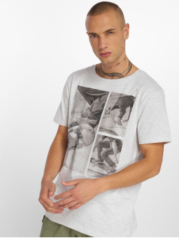 Stitch & Soul Camiseta Print gris