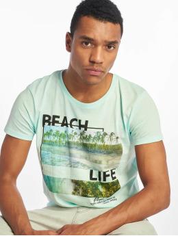 Stitch & Soul Camiseta Beach Life turquesa