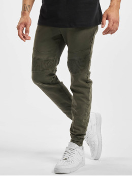 Stitch & Soul Chino pants Panel green