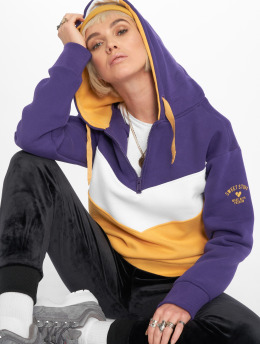 Stitch & Soul Hoodie Colour Block purple