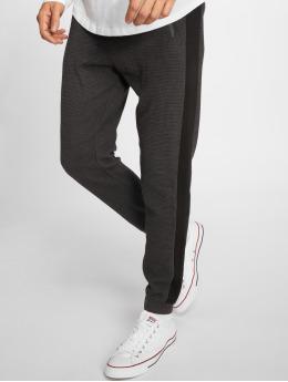 Stitch & Soul joggingbroek Ribbed grijs