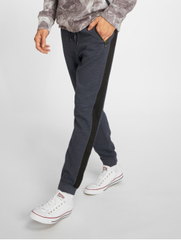 Stitch & Soul Jogginghose Ribbed blau
