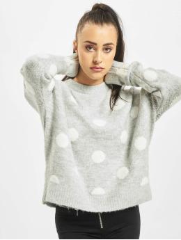 Stitch & Soul Jumper Dots grey