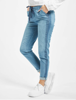 Stitch & Soul Pantalon chino Denim bleu