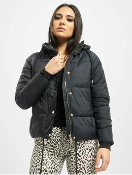 Stitch & Soul Puffer Jacket Cataleya  black