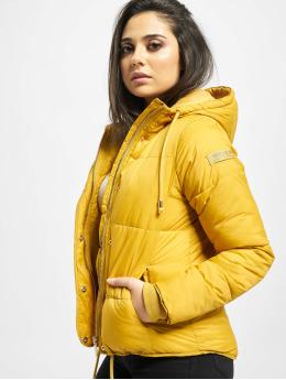 Stitch & Soul Puffer Jacket Cataleya  yellow