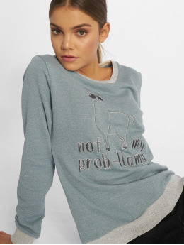 Stitch & Soul Pullover Light Stormy blue