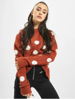 Stitch & Soul Pullover Dots orange