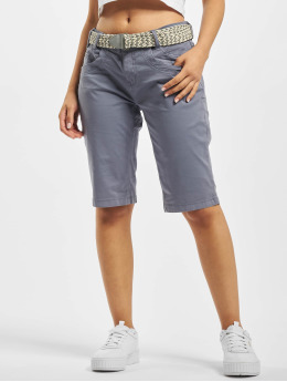 Stitch & Soul shorts Bermuda  blauw