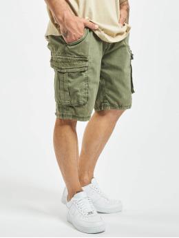 Stitch & Soul shorts Cargo  olijfgroen