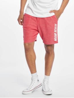 Stitch & Soul shorts Sweat Bermuda rood