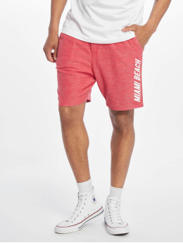 Stitch & Soul Shorts Sweat Bermuda rot