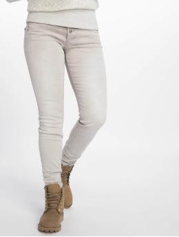 Stitch & Soul Skinny Jeans Washed šedá