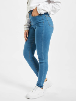 Stitch & Soul Skinny jeans L135  blauw