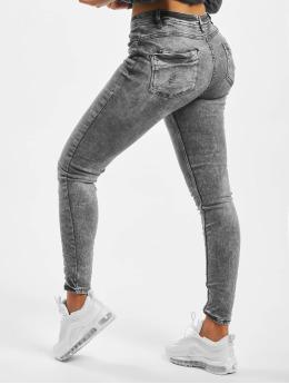 Stitch & Soul Skinny jeans Gina grijs