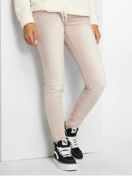 Stitch & Soul Skinny Jeans Light Vintage Rose růžový
