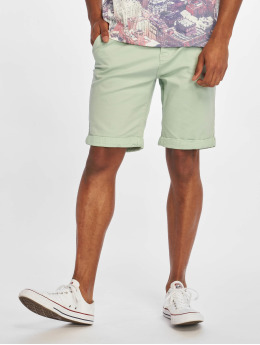 Stitch & Soul Szorty Chino Bermuda zielony